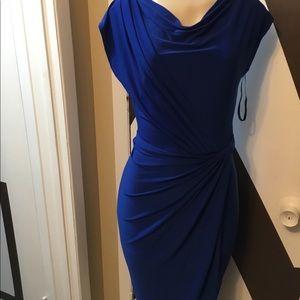 EUC COBALT BLUE Lauren, Ralph Lauren dress.